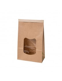 Brown bag with PLA coating...